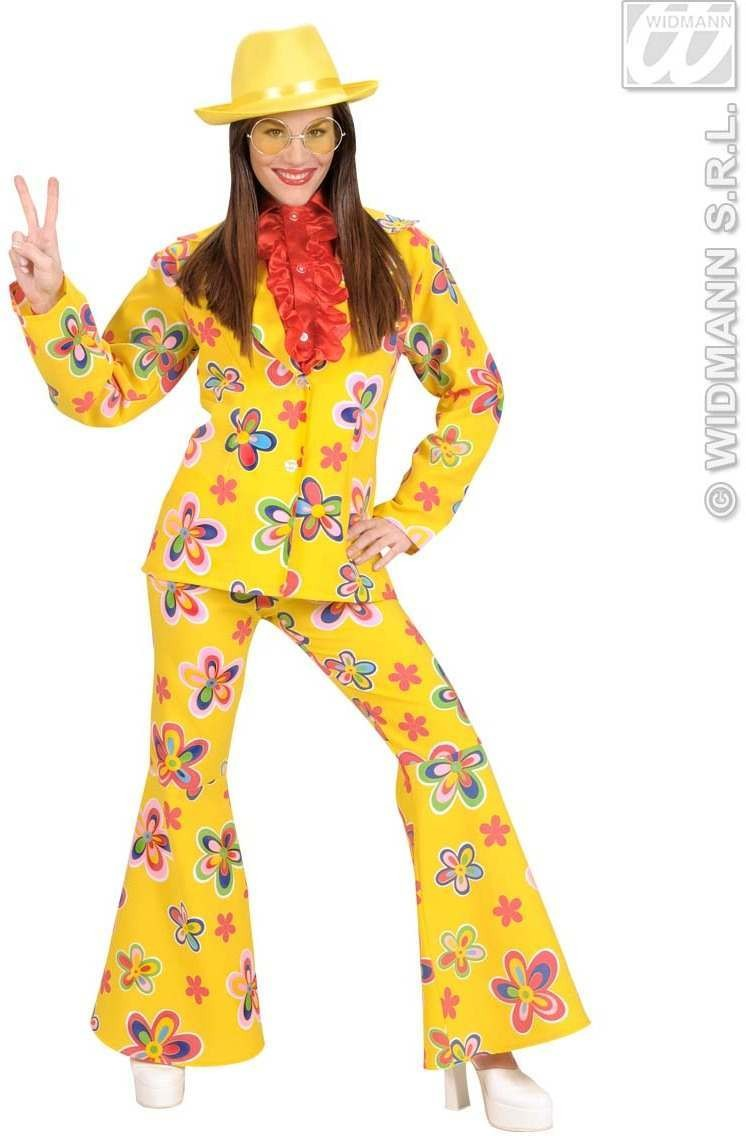 Qual.Fabric Woman Size Flower Party Suits 2C. Costume