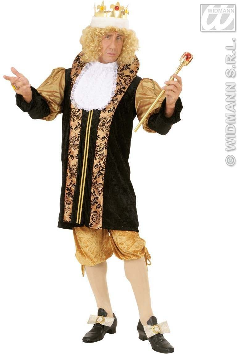 Medieval King Fancy Dress Costume Mens (Royalty)