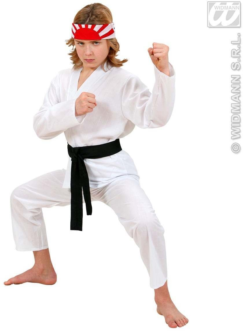 Karate Kid Fancy Dress Costume Boys