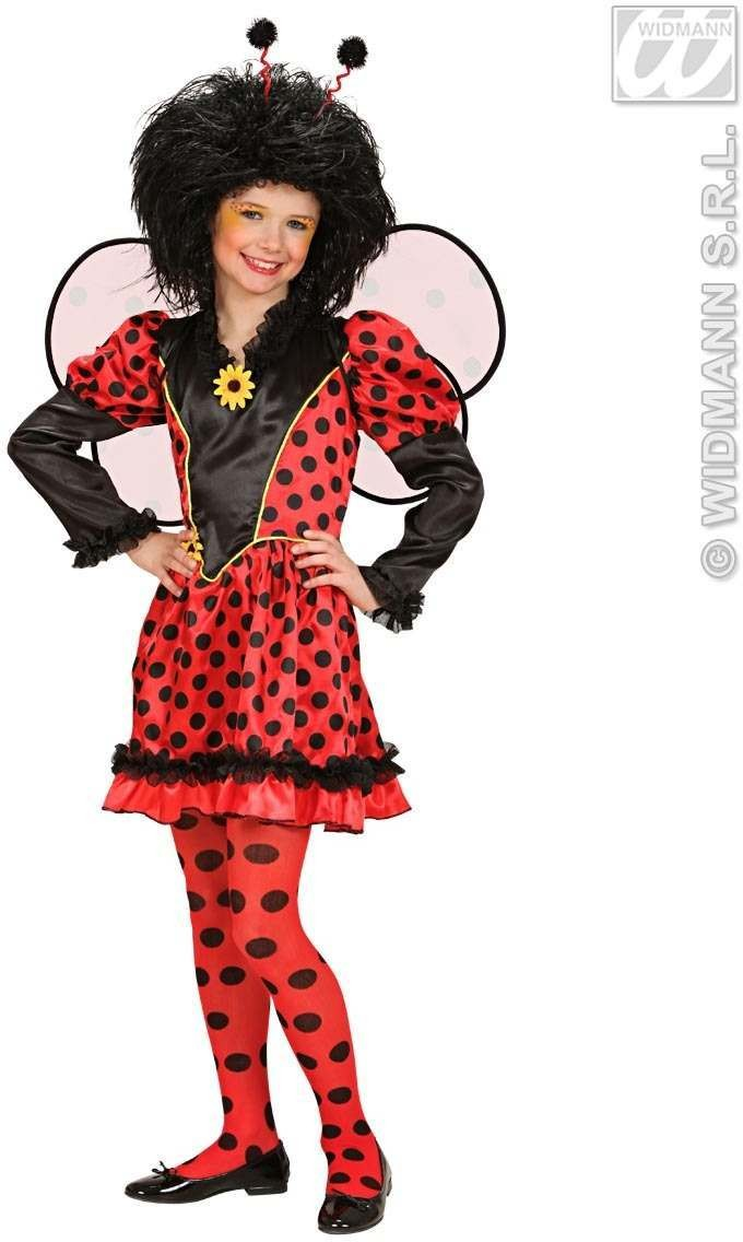 Ladybug Fancy Dress Costume Girls (Animals)