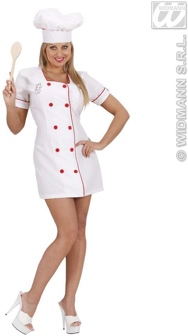 Sexy Chef Fancy Dress Costume Ladies (Sexy)