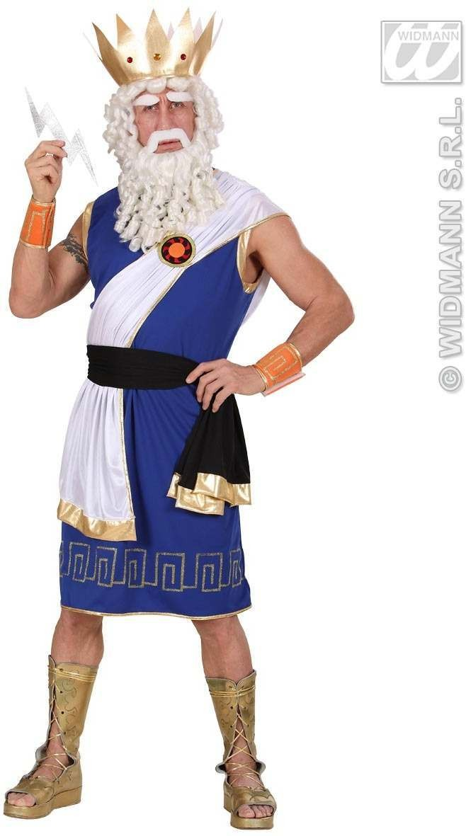 Zeus Fancy Dress Costume Mens (Cartoon)