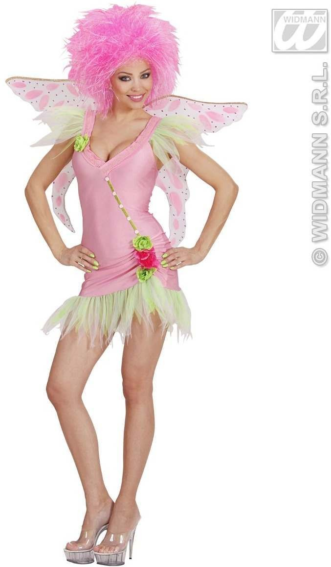Pink Fairy Fancy Dress Costume Ladies (Fairy Tales)