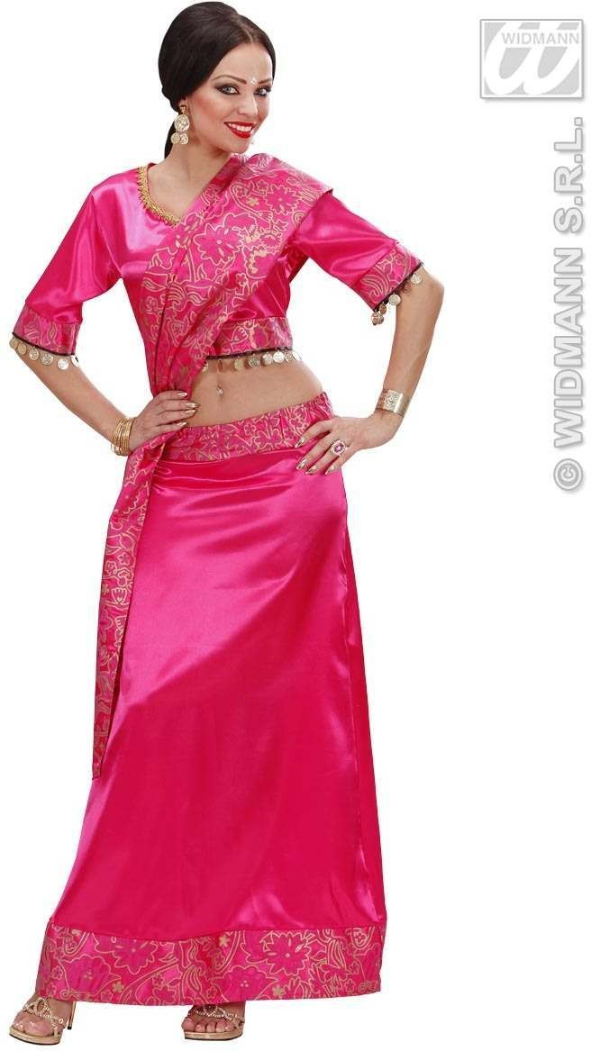 Bollywood Dancer Fancy Dress Costume Ladies (Cultures)