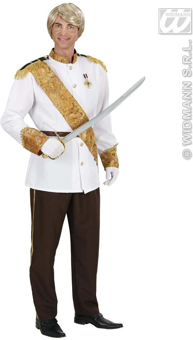 Charming Prince Fancy Dress Costume Mens (Royalty)