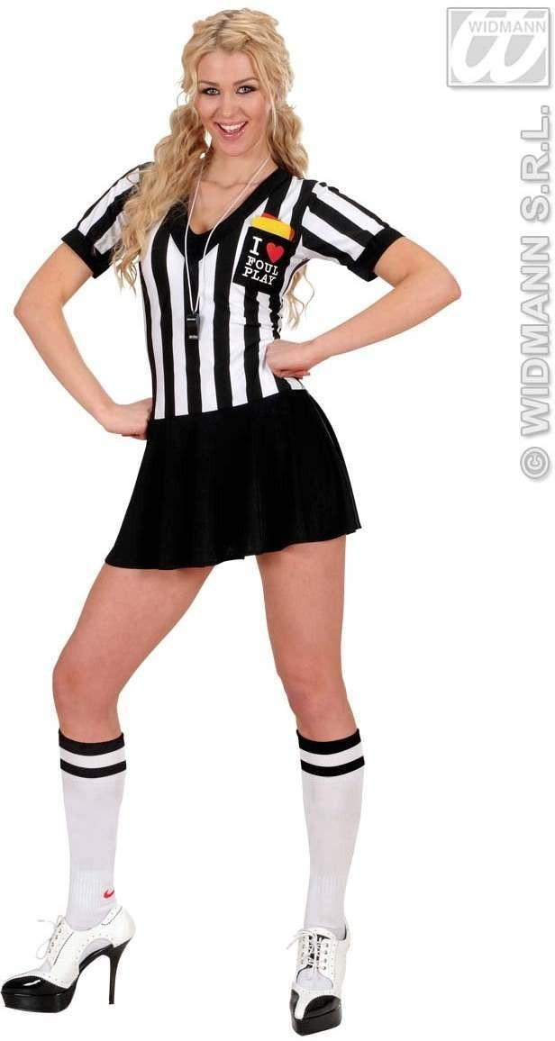 Referee Fancy Dress Costume Ladies (Sport)