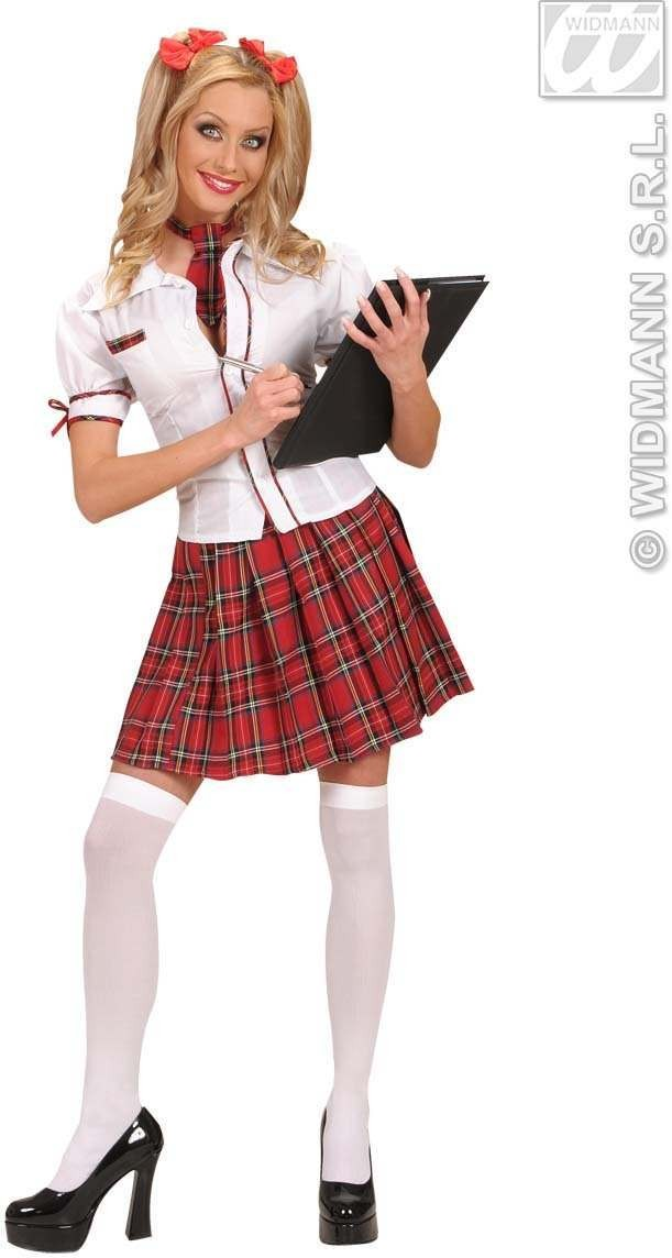 School Girl Fancy Dress Costume Ladies (School)