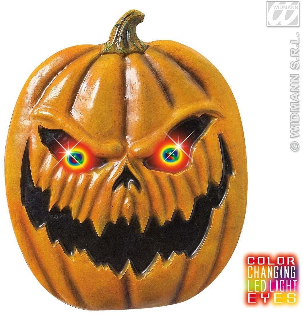 Pumpkins W/Blinking Colour Changing Eyes - Fancy Dress (Halloween)