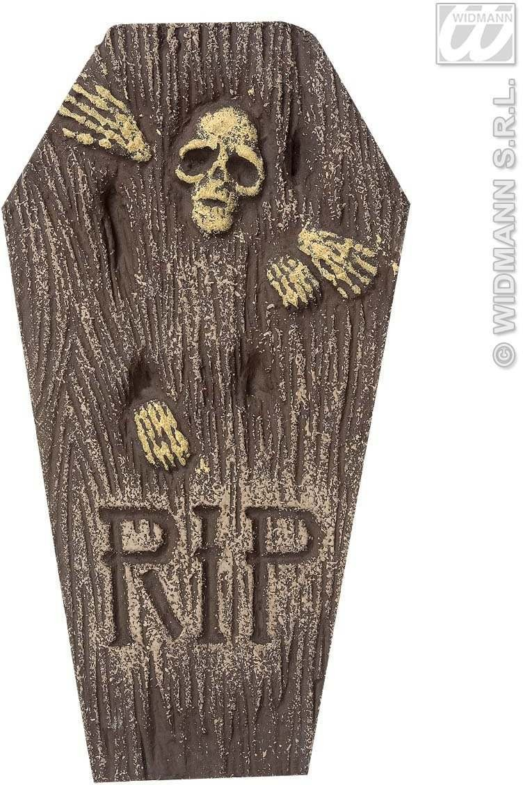 Skeleton Tombstones - 57Cm - Fancy Dress (Halloween)