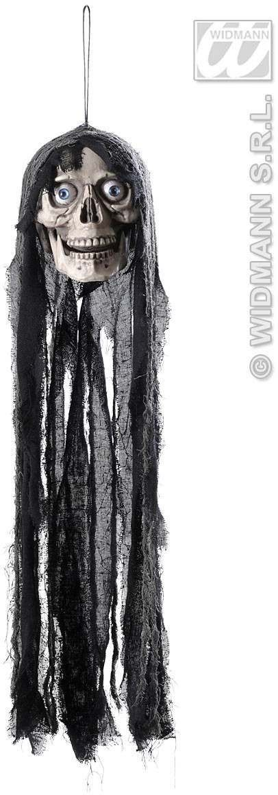Sound Activated Talking Hooded Skulls Fancy Dress (Halloween)