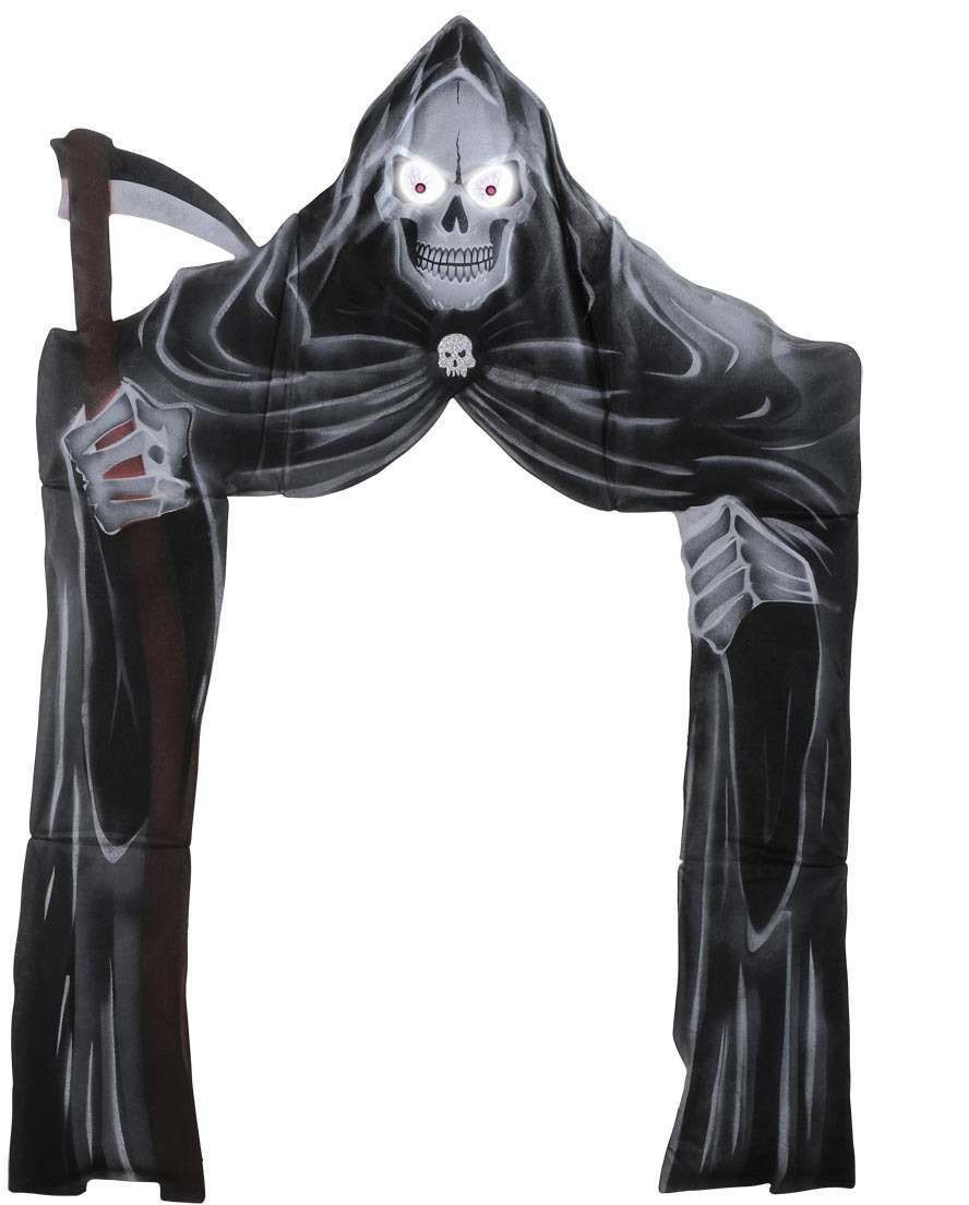 Archway Grim Reapers, Light Up Eyes 208X147 Fancy Dress (Halloween)