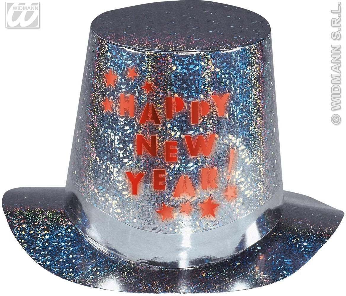 Flash.Light Happy New Year Holog.Top Hats Fancy Dress
