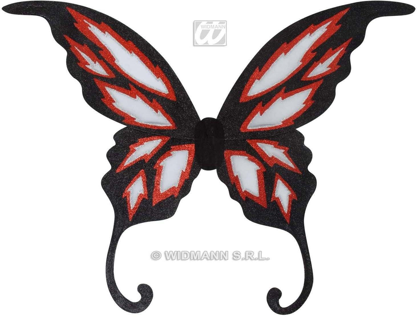 Maxi Glitter Wings 85X88Cm - Fancy Dress