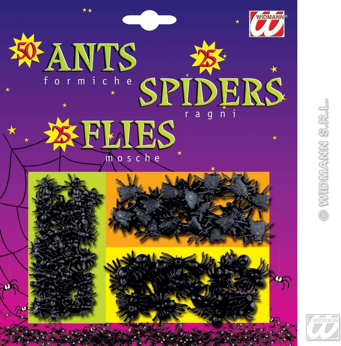 Insects On Blister Card - Fancy Dress (Halloween)