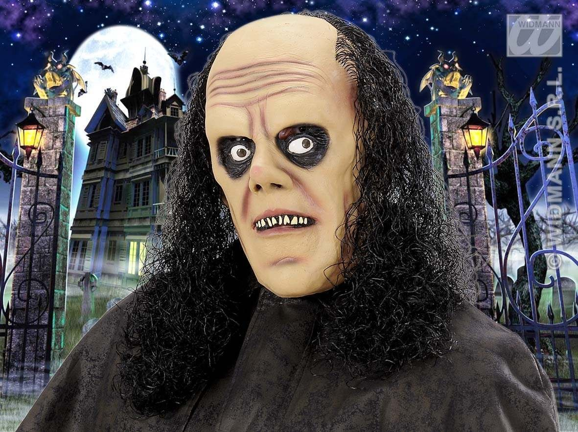 Undertaker Masks With Wig - Fancy Dress