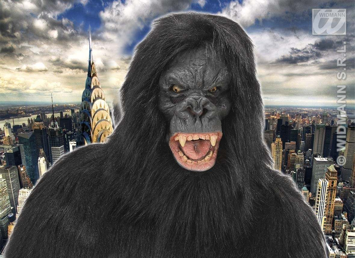 Plush King Kong Masks - Fancy Dress (Animals)