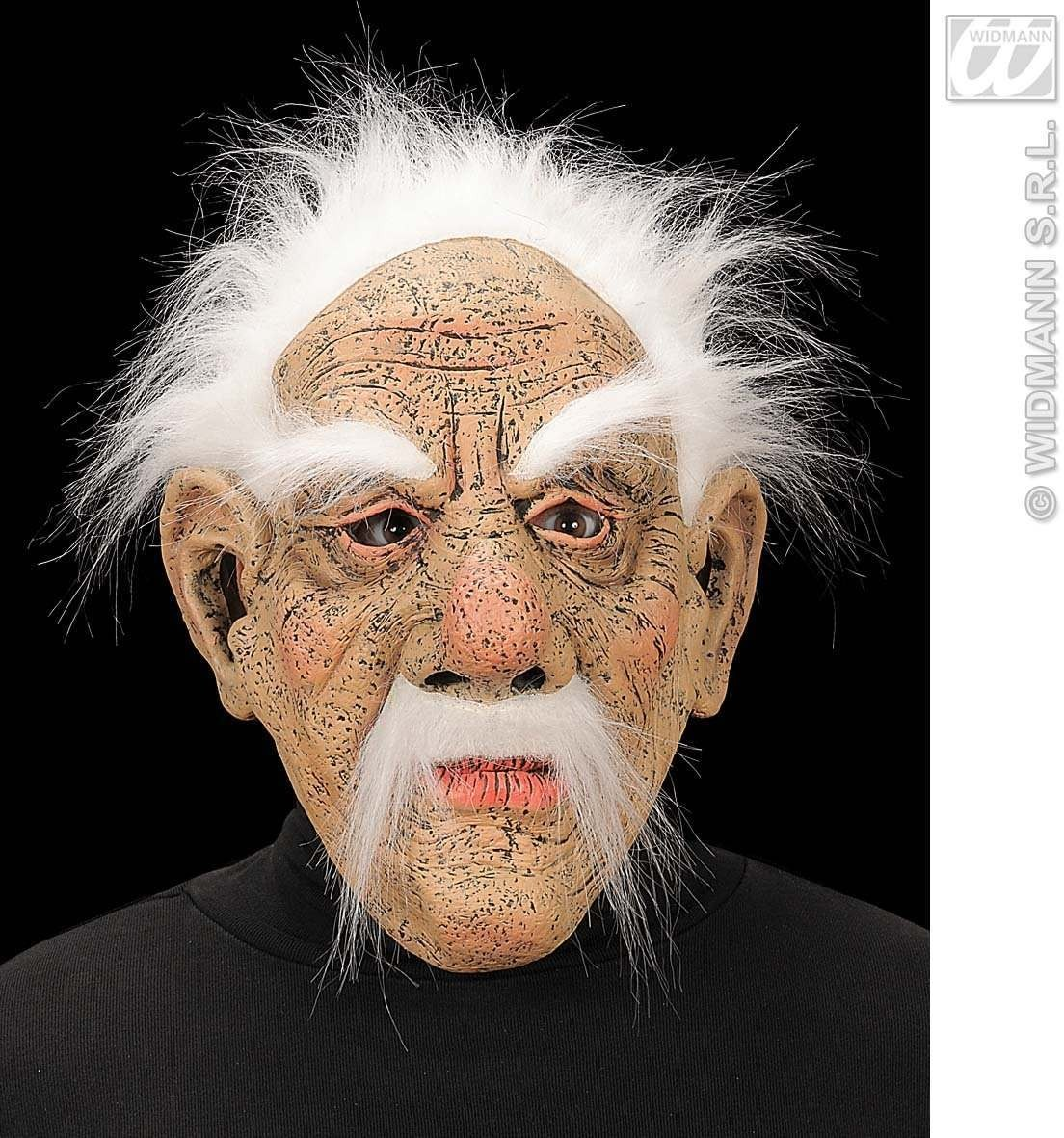 Old Men Masks Plush Hair Eyebrows Moustache Fancy Dress