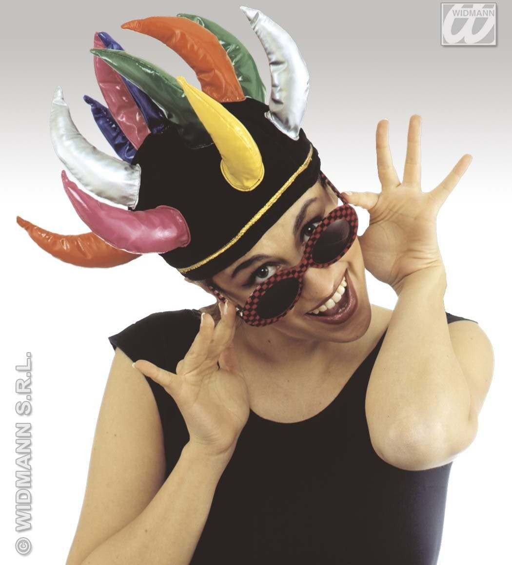 Spike Hat Multicolour - Fancy Dress