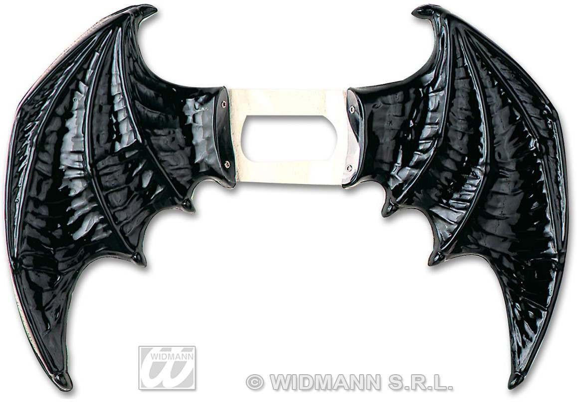 Bat Wings Black Maxi - Fancy Dress (Halloween)