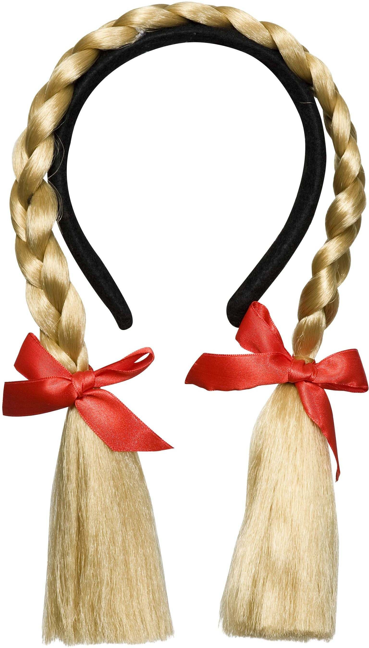 Bendable Plaits Headband - Blonde - Fancy Dress