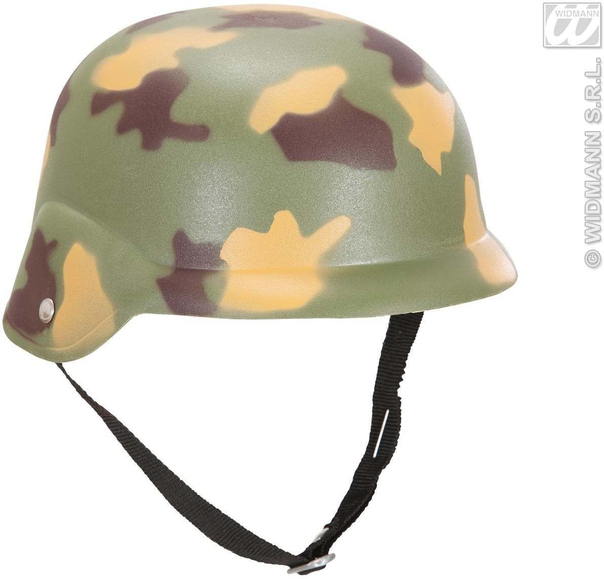 Camouflage Helmet - Fancy Dress (Army)