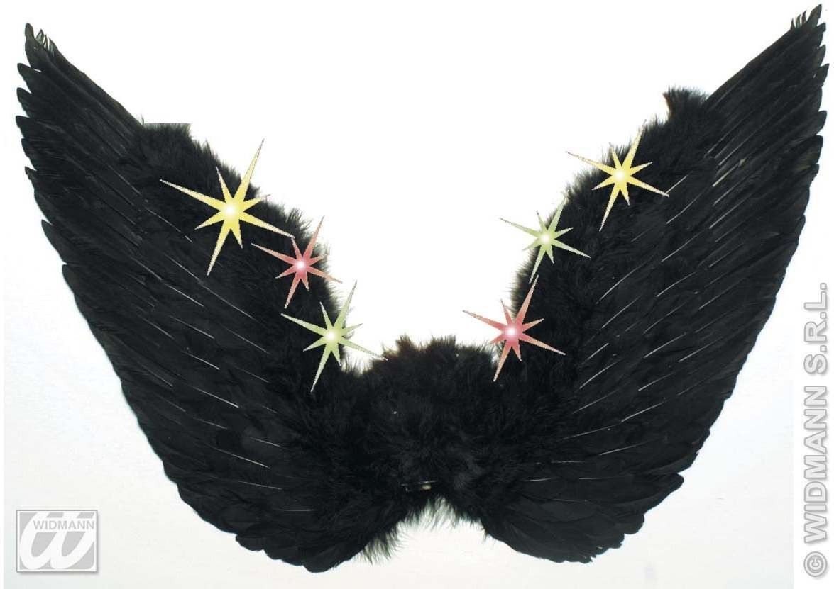 Feather Wings Light Up 2Colours - Fancy Dress