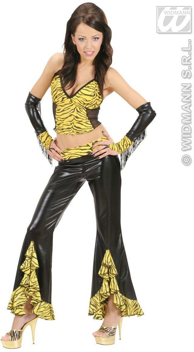 Tiger Pants Fancy Dress Costume Ladies (Animals)