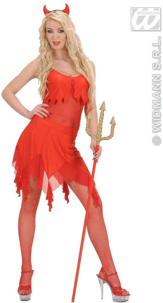 Devilin Fancy Dress Costume Ladies (Halloween)