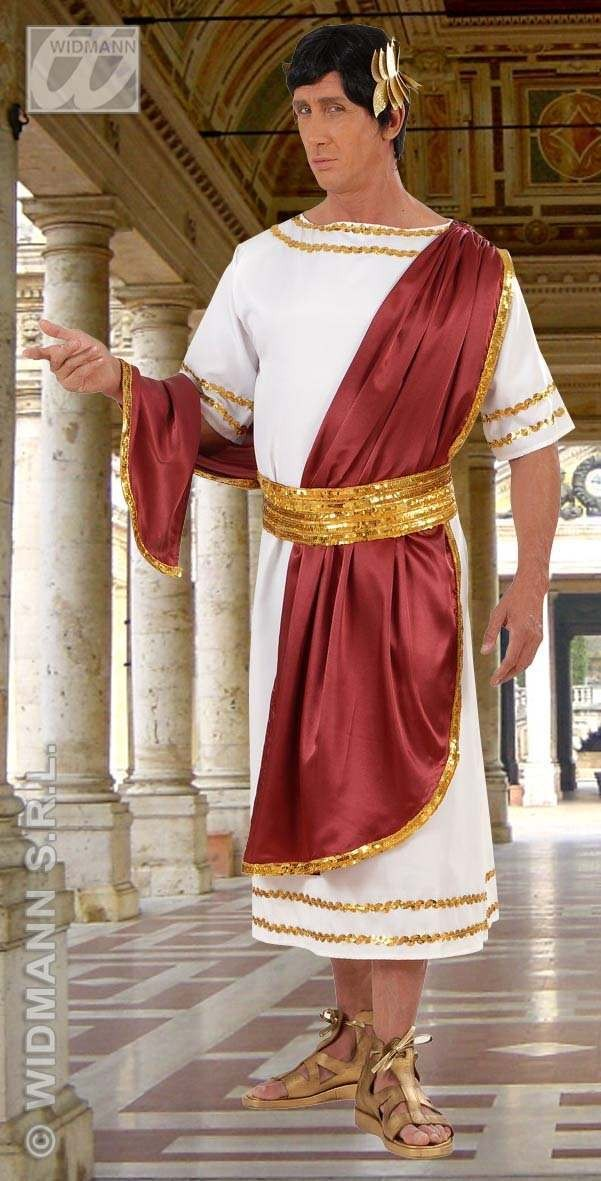 Julius Caesar - Tunic W/Drape, Belt, Headwreath Costume (Roman)