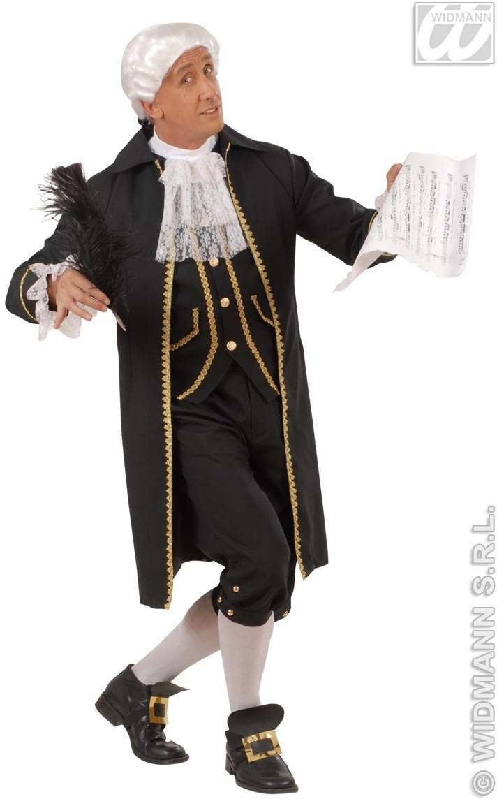 Composer - Long Jacket W/Vest, Jabot, Pants.. Costume