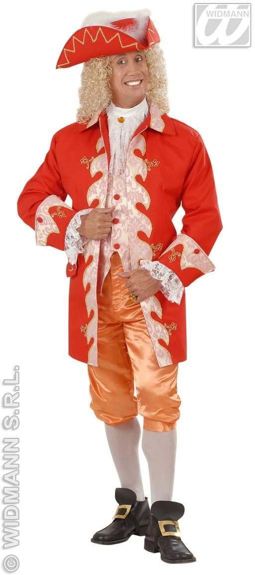 18Th Century French Royal Court Suit Fancy Dress Mens (French)