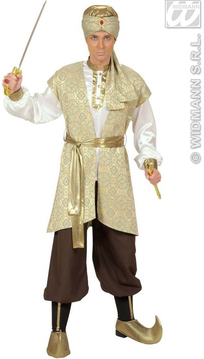 Prince Of Persia Fancy Dress Costume Mens (Royalty)