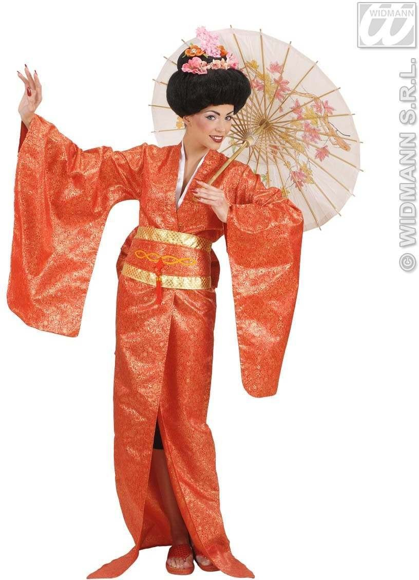 Geisha Fancy Dress Costume Ladies (Oriental)