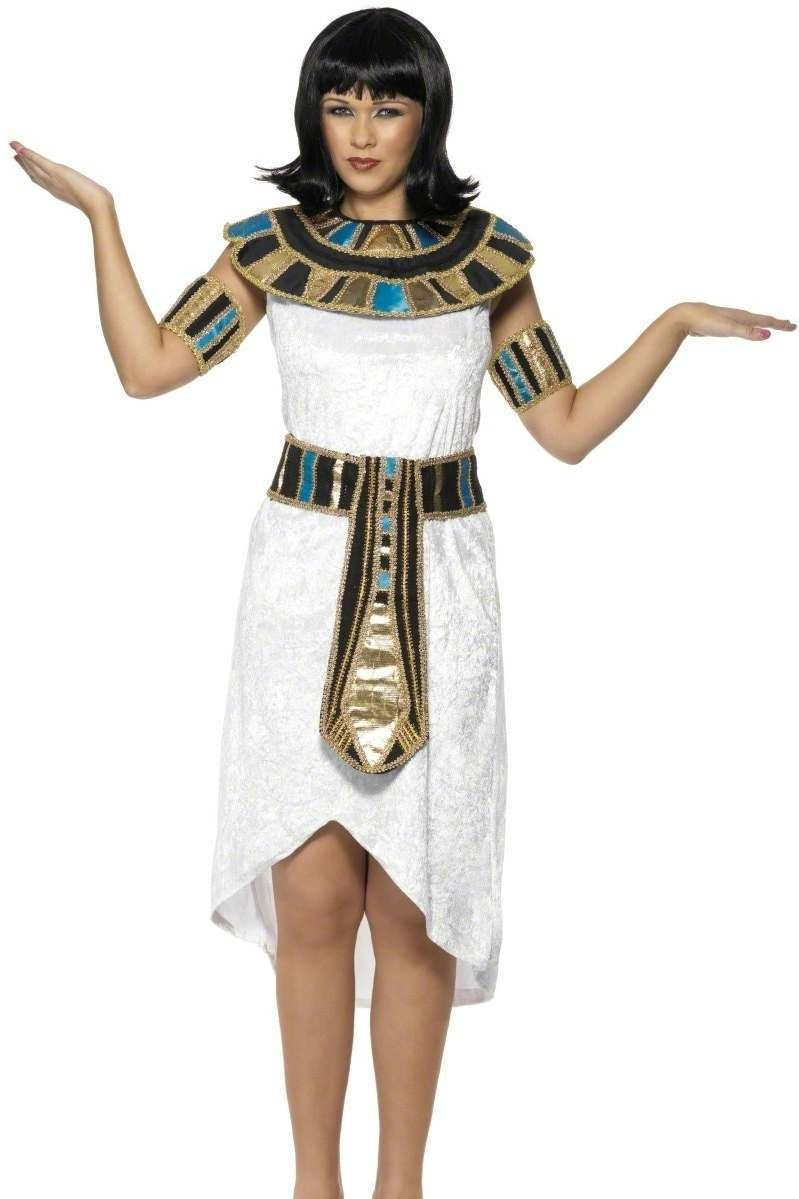 Egyptian Lady Fancy Dress Costume Ladies (Medieval