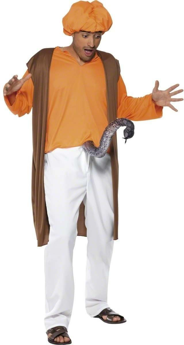 Snake Charmer Fancy Dress Costume Mens Size 38-40 S