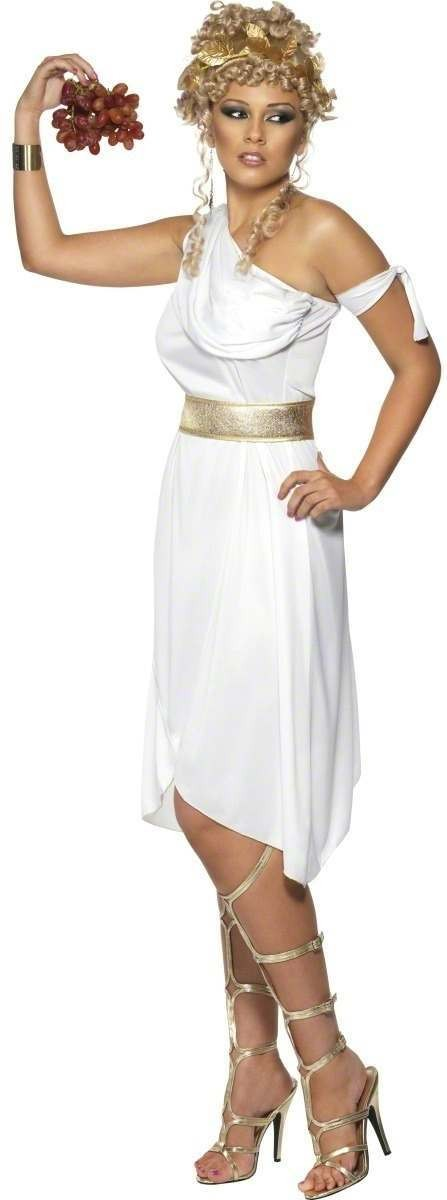 Greek Goddess Fancy Dress Costume Ladies (Greek , Roman)