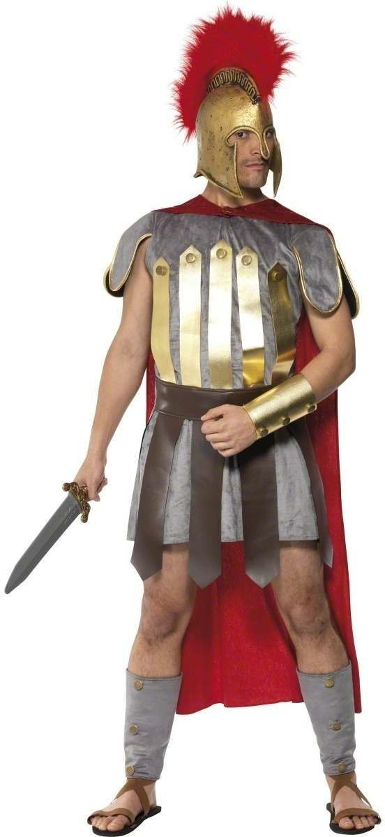 Roman Warrior Fancy Dress Costume Mens (Greek , Roman)