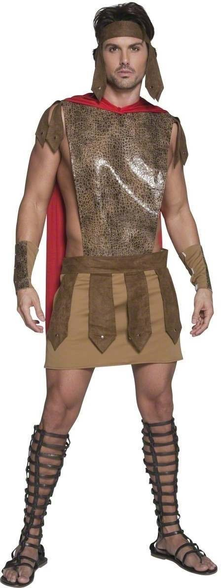 Fever Male Roman Warrior Costume Mens Size 38-40 S (Sexy)