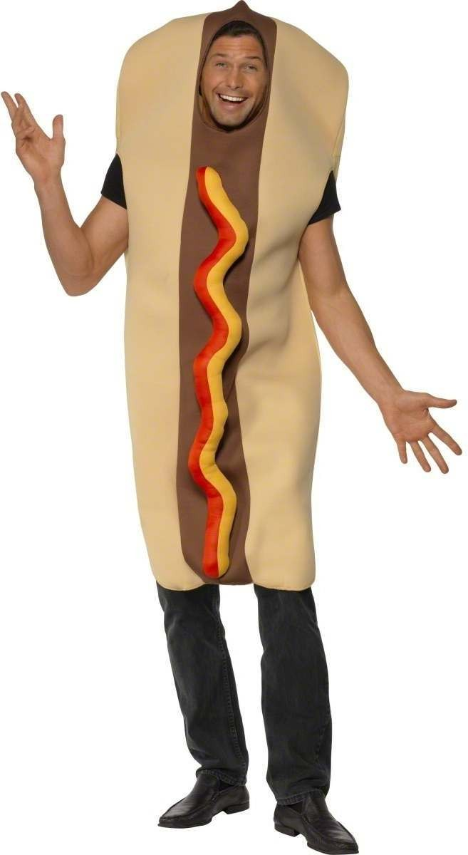 Giant Hot Dog Fancy Dress Costume
