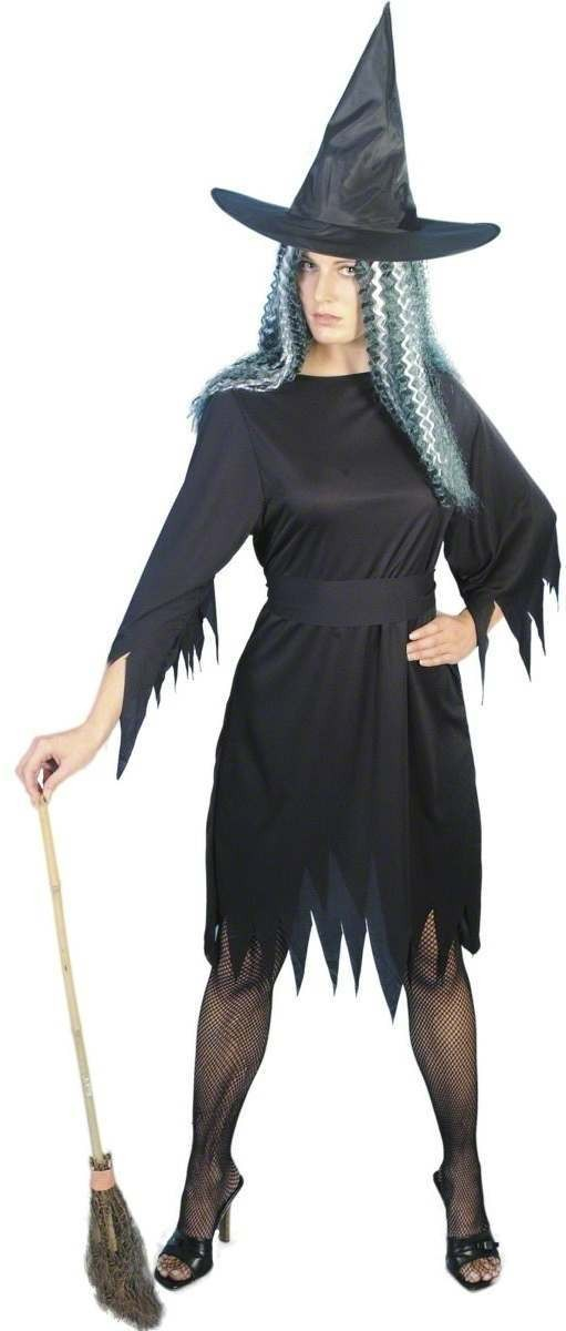Spooky Witch Fancy Dress Costume Ladies (Halloween)