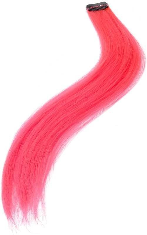 Hair Extensions (Halloween Wigs) - Neon Pink