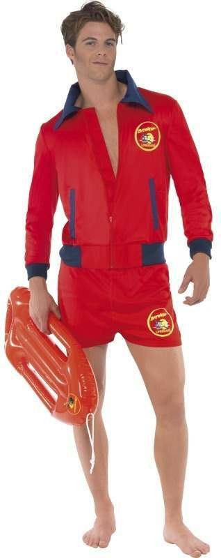 Baywatch Fancy Dress Costume