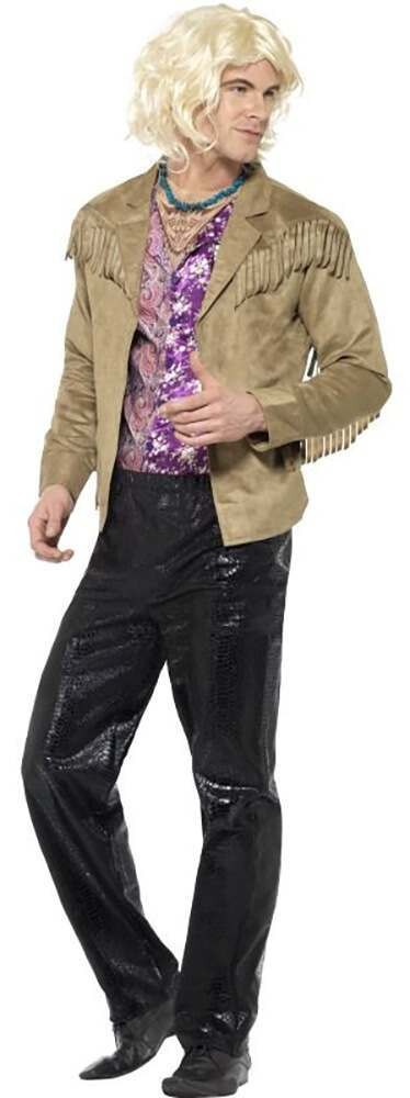 Mens Zoolander Hansel Fancy Dress Costume