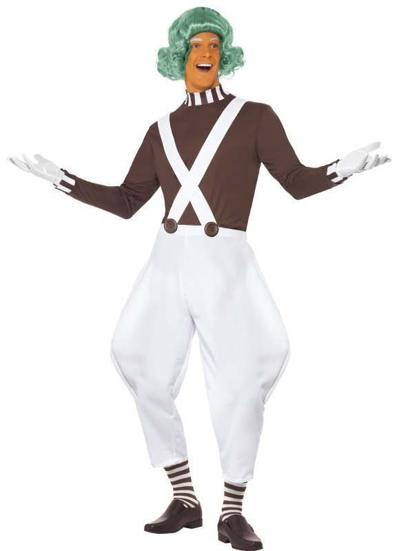 Men'S Factory Candy Creator Fancy Dress Costume