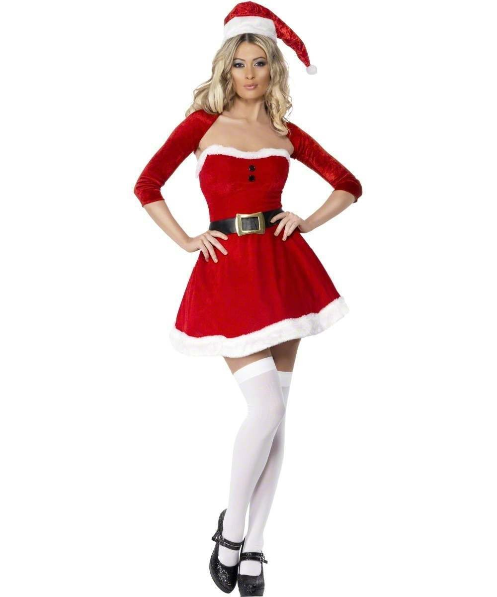 Fever Santa Babe Fancy Dress Costume