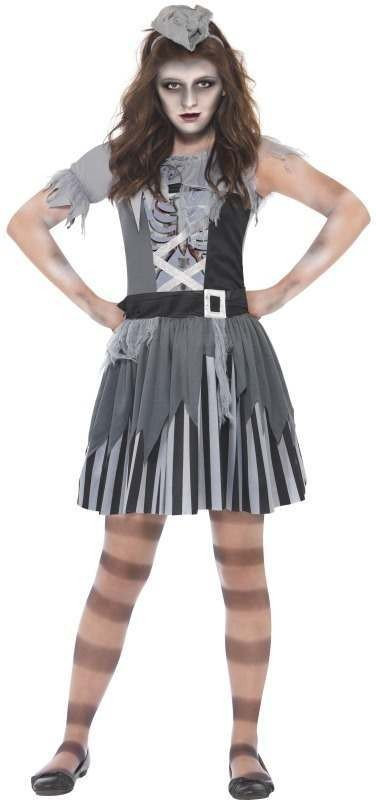 Ghost Ship Pirate Fancy Dress Costume