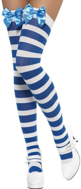 Thigh High Stockings With Bow (Cartoon Fancy Dress Tights)