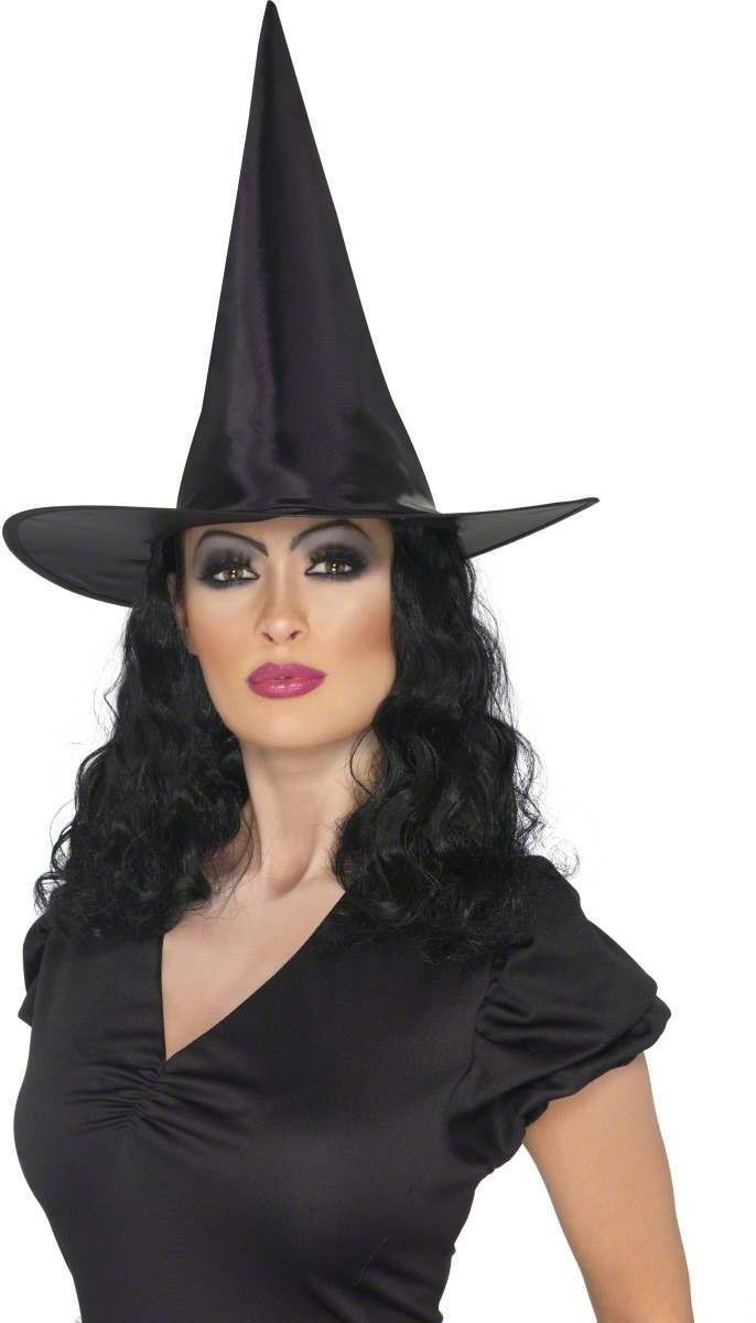 Witch Hat Adult Fancy Dress Ladies (Halloween)
