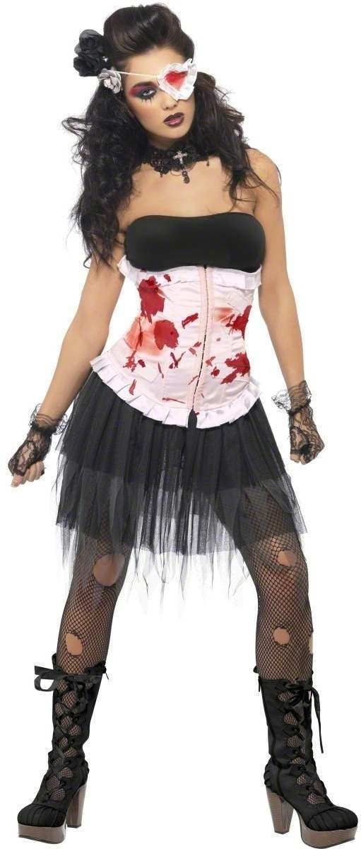 Bleeding Beauty Fancy Dress Costume Ladies (Halloween)
