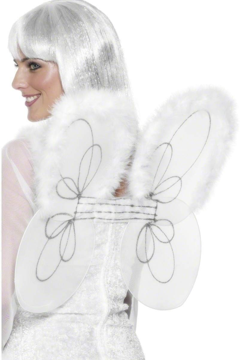 Wings With Glitter Trim - Fancy Dress Ladies